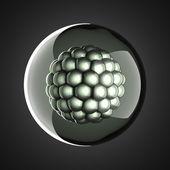 A micro cell scientific illustration — Stock Photo