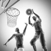 Basketball game player radiography image — Stock Photo