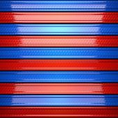 Red and blue metal background — Stock Photo
