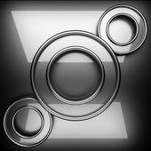 Fondo de metal pulido — Foto de Stock