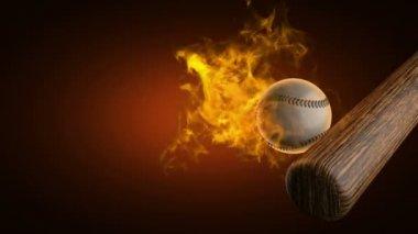Boule de feu de baseball — Vidéo