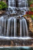Silky Waterfall in High Dynamic Range — Stock Photo