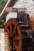 Water Wheel in motion — Stock Photo