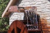 Waterrad in beweging — Stockfoto