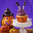 Halloween cupcake — Stock Photo #51837395