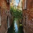 Narrow water canal in Venice — Stock Photo #53511221
