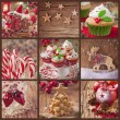 Christmas collage — Stock Photo #57612083