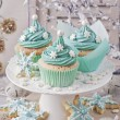 Pastel colored cupcakes — Stock Photo #58311579