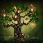 Fantasy tree house — Stock Photo #63689779