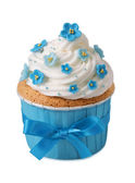 Forgetmenot cupcake — Stock Photo