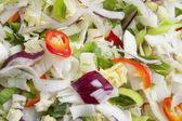 切的蔬菜 — 图库照片