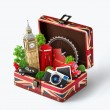 London traveling concept — Stock Photo #65783681