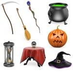 3D halloween set — Stock Photo #52722563
