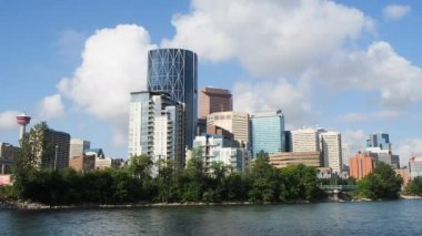 Calgary skyline — Stock Video