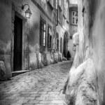 Narrow medieval streets — Stock Photo #52492489