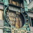 Постер, плакат: Famous clock in vienna