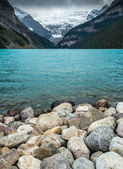 Lake Louise, Alberta, Banff National Park — Stock Photo