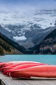 Lake Louise, Alberta, Banff National Park — Stock Photo