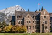Old stone building, Banff National Park — Stock Photo