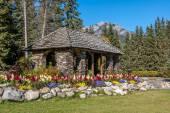 Cascade Gardens, Banff National Park — Stock Photo