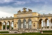 Gloriette in Schonbrunn Palace — Stock Photo