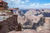 Grand Canyon West Rim — Stock Photo