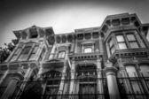 ビクトリア朝風の家々 — ストック写真
