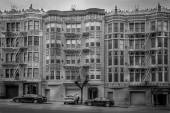 Apartment buildings in San Francisco — Stock Photo
