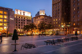 Union Square in San Francisco — Stock Photo