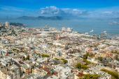 Bird's eye view of San Francisco — Stock Photo