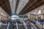 Keleti station, Budapest — Stock Photo