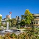 Memorial Park in Calgary — Stock Photo #53952159