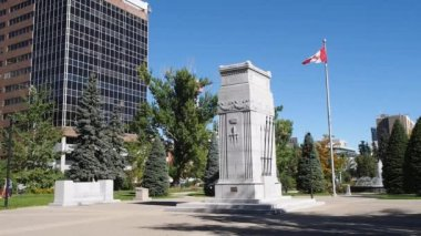 Memorial Park in Calgary — Stock Video