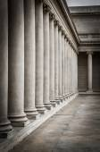 Columns, Palace of the Legion of Honor — Stock Photo