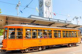 Historic street car — Stock Photo