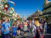 Main Street USA, Magic Kingdom — Stock Photo