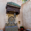 Fountain at the Moroccan pavilion, Epcot — Stock Photo #59217717