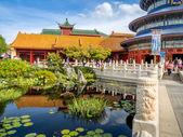 Chinese Pavilion, Epcot Center — Stock Photo