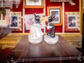 Mickey and Mini at the Magic Kingdom — Stock Photo