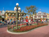 Main Street USA, Magic Kingdom — Stock Photo