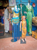 Goods for sale at the Moroccan Pavilion — Stock Photo