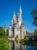Cinderella Castle — Stock Photo