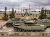 Historic tanks at  the Military Museums, Calgary — Stock Photo