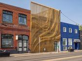 Interesting architectural facade — Stock Photo