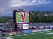 McMahon Stadium in Calgary, AB,Canada — Stock Photo