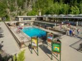 Radium Hot Springs Pool — Stock Photo