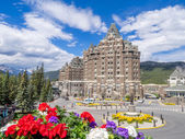 The Banff Springs Hotel — Stock Photo