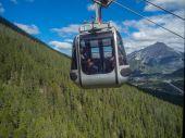 Banff Sulphur Mountain Gondola — Stockfoto