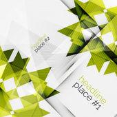 业务未来的三角组合 — 图库矢量图片