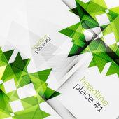 Business futuristic triangle composition — Stockvektor